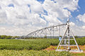 Center Pivot Irrigation System Royalty Free Stock Photo