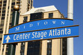 Center Stage Atlanta Stock Image