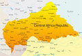 Central Africa Republic Stock Images