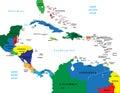 Centrálnej a karibský