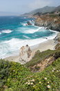 Central California coast Stock Images