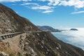 Central California coast Royalty Free Stock Photo