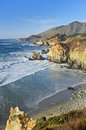 Central Coast, Big Sur, Monterey, California Royalty Free Stock Photo