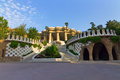 Central entry park Guell Royalty Free Stock Images