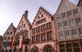 In central frankfurt the old city square showcases the old buildings and architecture of a different era Royalty Free Stock Photography