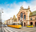 Central Market Hall, Budapest, Hungary, Europe. Royalty Free Stock Photo