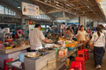 Central market phnom penh cambodia dec on dec in the is a large constructed in it is Royalty Free Stock Image