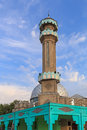 Central mosque in bishkek city location kyrgyzstan st moscow gogol Stock Photography