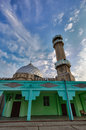 Central mosque in bishkek city location kyrgyzstan st moscow gogol Royalty Free Stock Photography