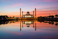 The Central Mosque of Songkla in Thailand Royalty Free Stock Photo