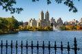 Central Park Reservoir And Upp...