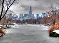 Central Park In Snow, Manhatta...