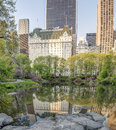 Central Park spring Royalty Free Stock Photo