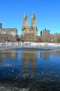 Central Park in the winter, NYC Royalty Free Stock Photo