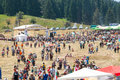 The central part of the Festival of Rozhen in Bulgaria Royalty Free Stock Photo