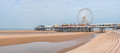 Central Pier in Blackpool Royalty Free Stock Photo