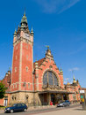 Central railway station, Gdansk Royalty Free Stock Image