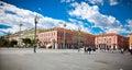 Central Square in Nice, France.