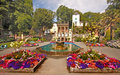Central Square Portmeirion Royalty Free Stock Photo