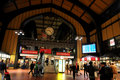 The Central Station of Hamburg. Royalty Free Stock Photo