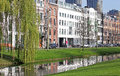 Centre of the city rotterdam netherlands april on april in Stock Image