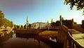 Centre de pétersbourg russie st nicholas orthodox cathedral Images stock