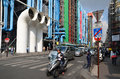Centre georges pompidou paris france october in paris france the postmodern structure completed in is one of most recognizable Stock Photography