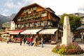 Centre of village. Konigssee. Germany Royalty Free Stock Photo