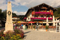 Centre of the village. Konigssee. Germany Royalty Free Stock Photo