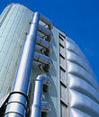 Centro de espaço de Leicester. Foto de Stock