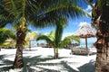 Centro turístico tropical de Palm Beach Fotografía de archivo libre de regalías