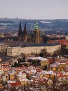 Centrum prague autumn Royalty Free Stock Photo