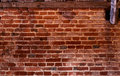 Centuries-old brick wall Royalty Free Stock Photography