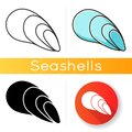 Cephalopod shell icon Royalty Free Stock Photo