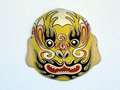 Ceramic chinese mythical figure handmade rendition of a Royalty Free Stock Photography