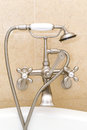 Classic Bathtub Faucet Royalty Free Stock Photo