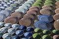 Ceramic dishware, Uzbekistan Royalty Free Stock Photo