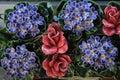 Ceramic Grave Flowers