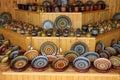 Ceramic handmade crockery Stock Photography