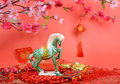 Ceramic horse souvenir Royalty Free Stock Photo