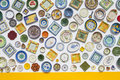 Ceramic plates Royalty Free Stock Photo