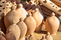 Ceramic pots typical from majorca balearic islands spain Stock Images