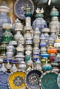 Ceramic Pottery Shop Royalty Free Stock Photo