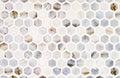 Ceramic tile mosaic wall background Stock Image