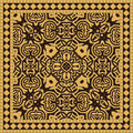 Ceramic Tile Seamless Pattern Royalty Free Stock Photography