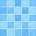 Ceramic tiles vector illustration blue Stock Photos