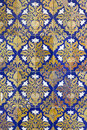 Ceramic wall tiles in Seville, Spain Stock Images