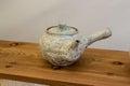 Ceramics the handmade from korea Royalty Free Stock Images