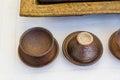 Ceramics the handmade from korea Royalty Free Stock Photos