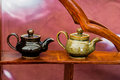 Ceramics the handmade from korea Stock Photography
